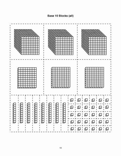 Base 10 Blocks Clipart 020 Worksheet Slide9 Jpg Base Ten Addition Best Worksheets