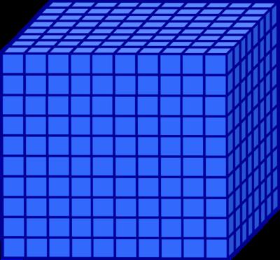 Base 10 Blocks Clipart Base Ten Blocks Clipart
