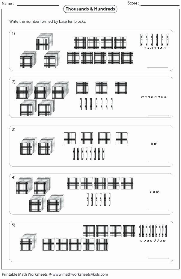Base 10 Blocks Clipart Base Ten Blocks Worksheets Free Addition Grade Place Value