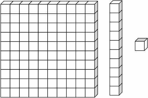 Base 10 Blocks Clipart Place Value Base Ten Blocks Clip Art Library