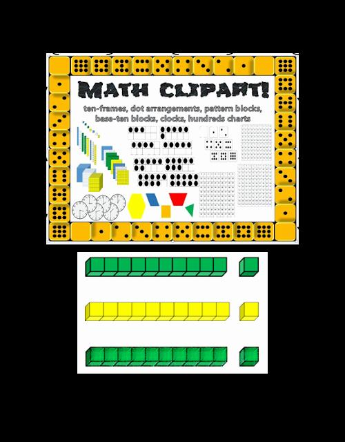Base 10 Blocks Clipart Place Value Clipart