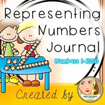 Base 10 Blocks Clipart Representing Numbers with Base 10 Booklet Number Sense