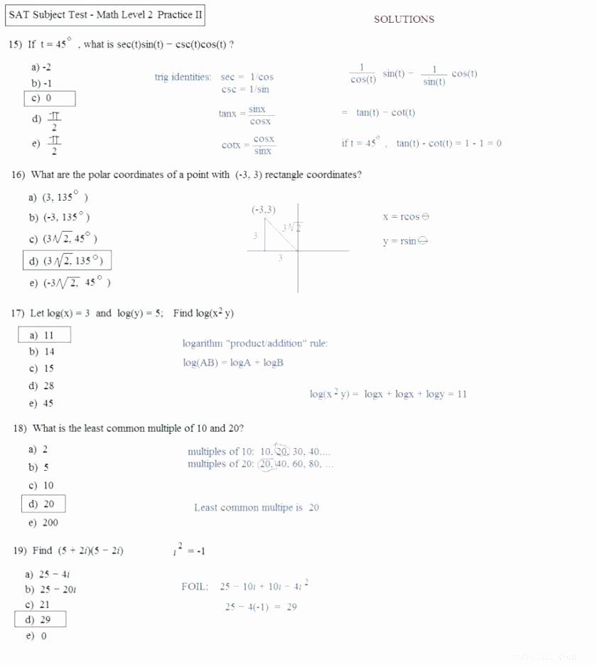 Base Ten Addition Worksheets Basic High School Math Worksheets