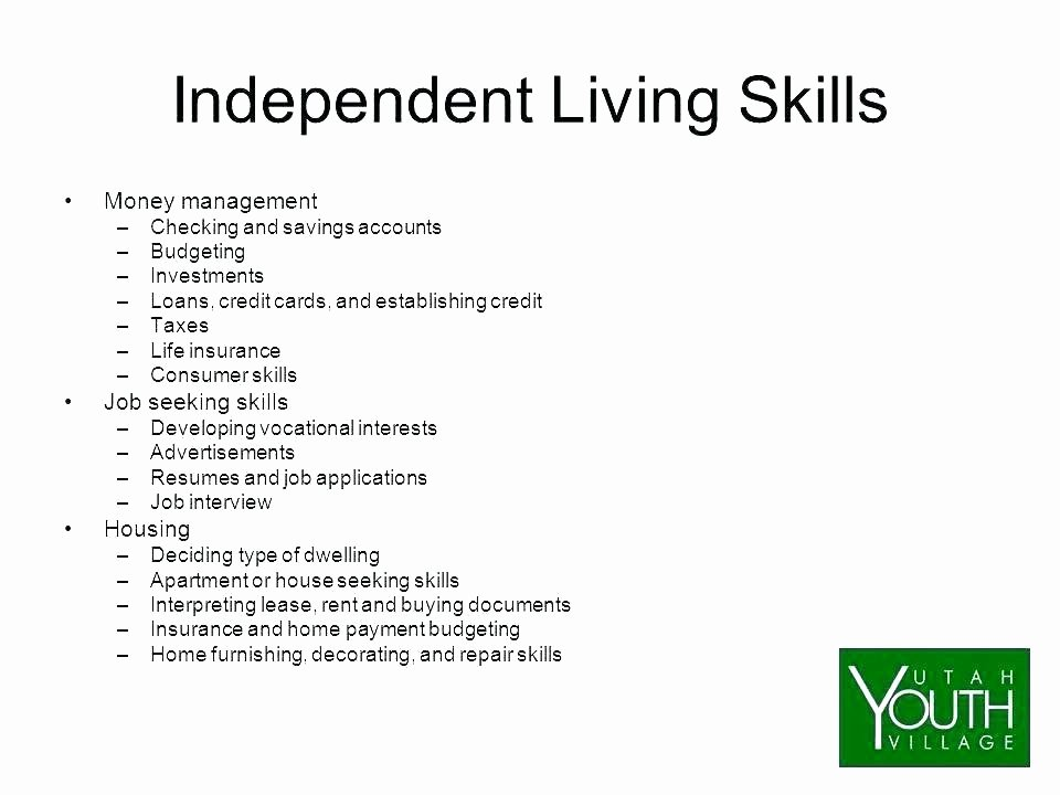 Basic Life Skills Worksheets Basic Living Skills Worksheets