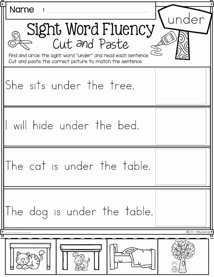 Basic Sentence Worksheets Writing Simple Sentences Kindergarten Worksheets