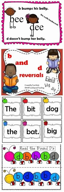Bd Reversal Worksheets 90 Best B and D Letter Reversals and Confusion Images In