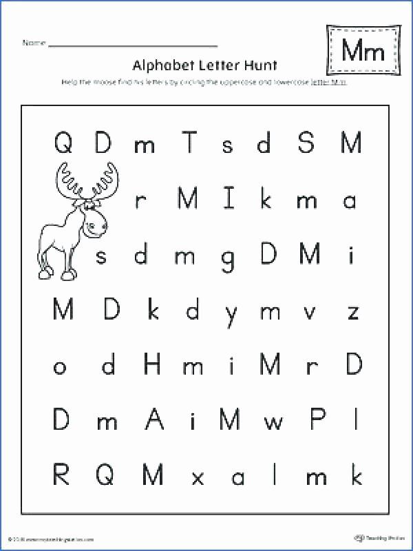 Bd Reversal Worksheets Preschool Letter D Worksheets Luxury D Words for