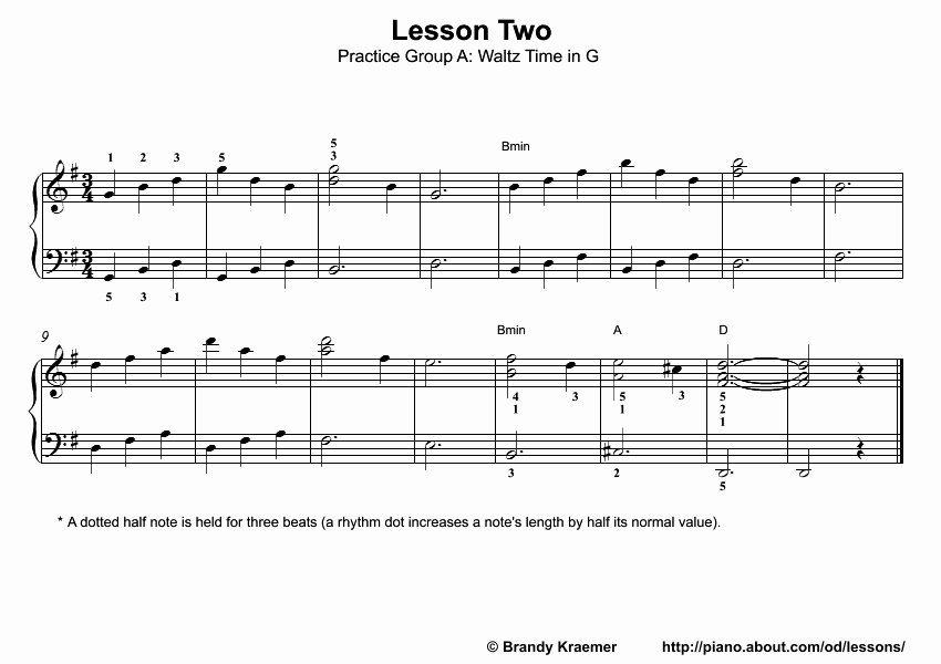 Beginner Piano Lesson Worksheets Beginner Piano Lesson Book