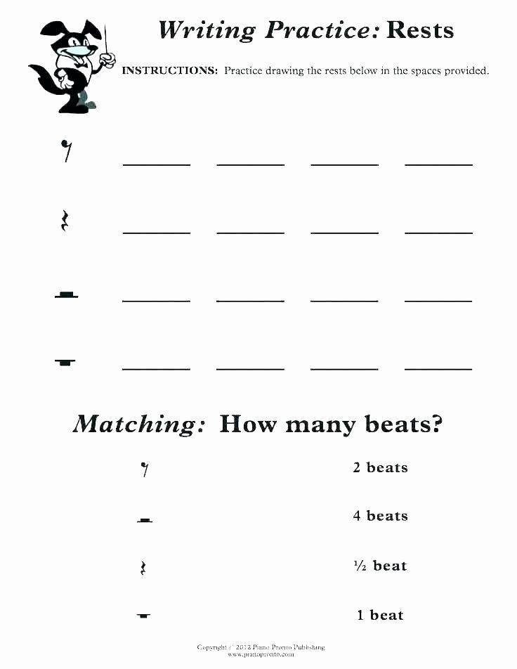 Beginner Piano Lesson Worksheets Beginner Piano Worksheets