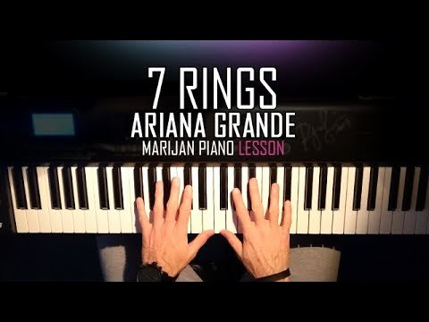 Beginner Piano Lesson Worksheets How to Play Ariana Grande 7 Rings