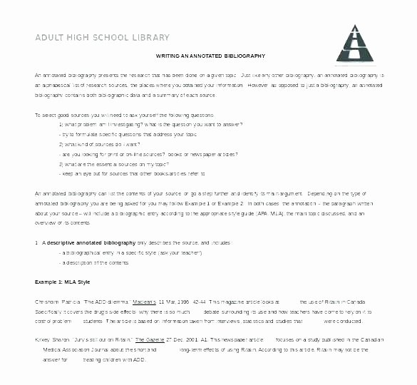 Bibliography Practice Worksheets Bibliography Template for Students