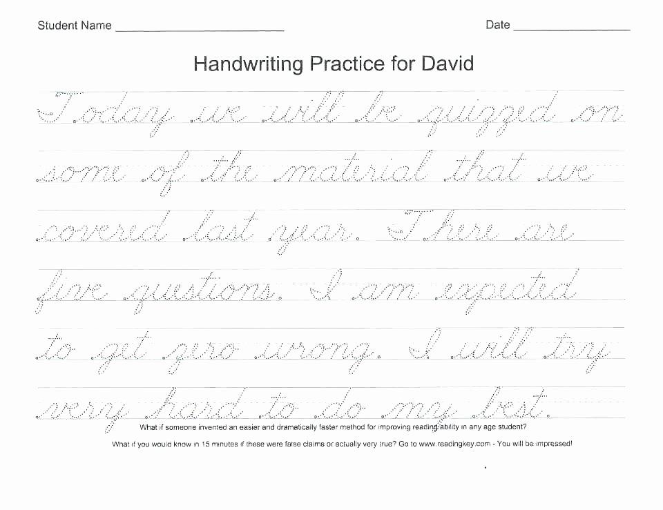 Blank Cursive Practice Sheets Blank Writing Worksheets – Redoakdeer