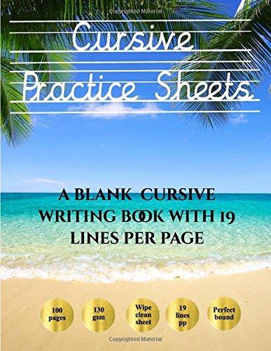 Blank Cursive Practice Sheets Cursive Practice Sheets Over 100 Blank Handwriting Practice