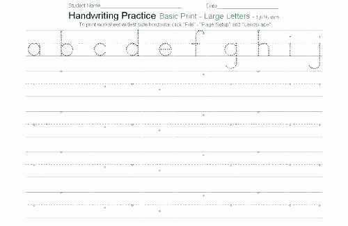 Blank Cursive Practice Sheets Name Practice Sheets for Learning to Spell Names In
