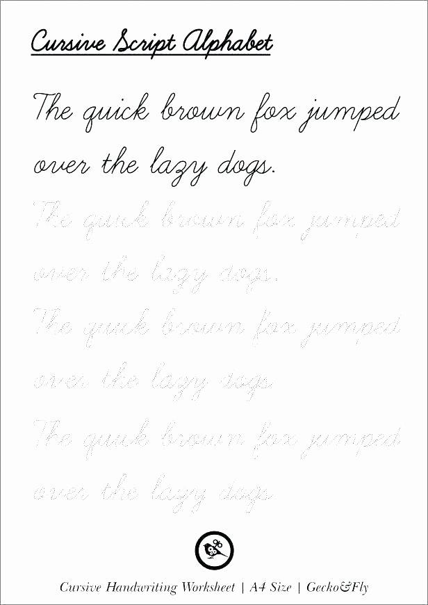 Blank Cursive Practice Sheets Printable Handwriting Worksheets for Kindergarten