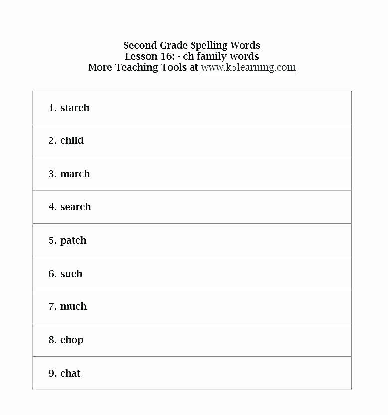 Blank Spelling Practice Worksheets Blank Spelling Worksheets