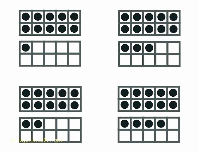 Blank Ten Frame Worksheets Printable Frames