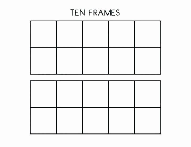 Blank Ten Frame Worksheets Printable Photo Frames – Festivnation