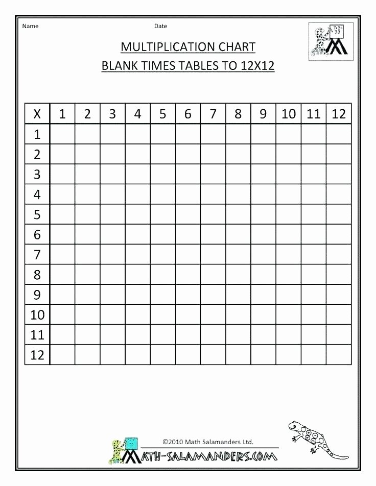 Blank Times Table Grid Timed Tables – Uasporting