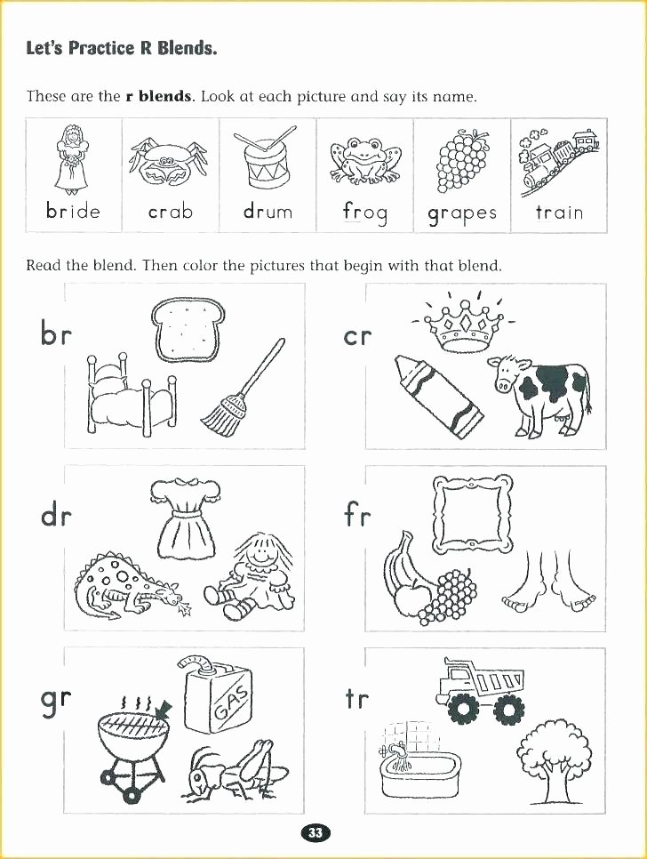 Blending Worksheets 1st Grade Ending Blends Worksheets Blends Worksheets for Grade 1 Jolly
