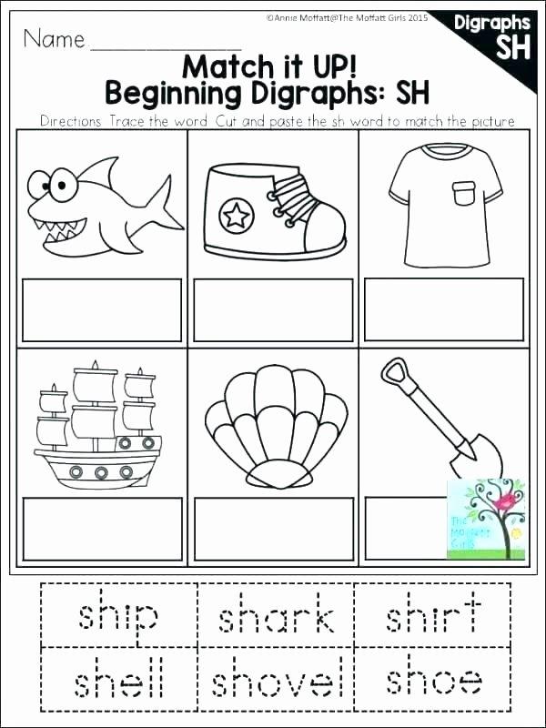 Blending Worksheets 1st Grade Free Phonics Worksheets for Kindergarten