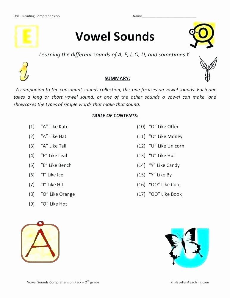 Blending Worksheets 1st Grade Second Grade Phonics Worksheets