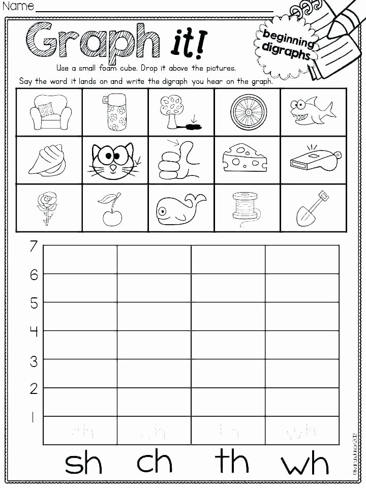 Blends Worksheets for 1st Grade Free Printable Ch Worksheets Sh and sound Practice Worksheet