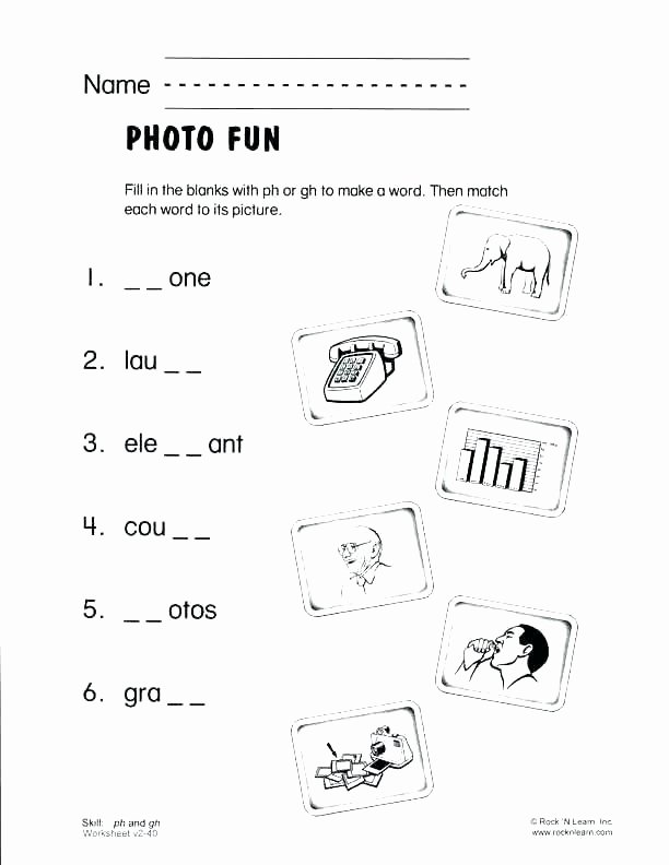Blends Worksheets for 1st Grade Year 2 Phonics Worksheets Phonic First Grade Pdf