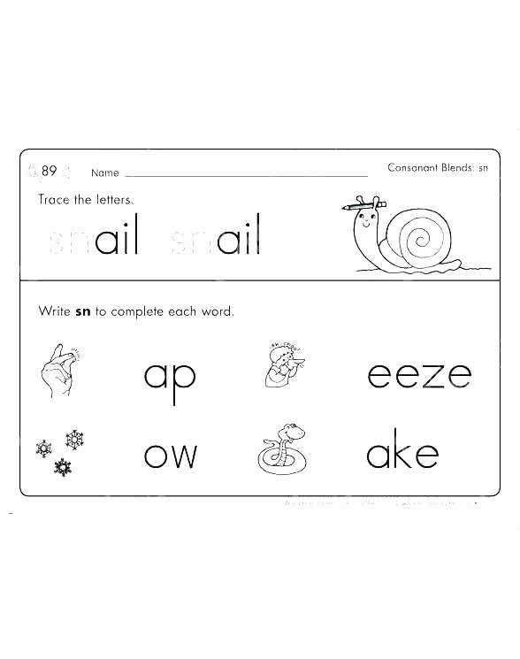 Blends Worksheets Kindergarten Free Final Consonant Blends Worksheets S Free Teaching Vowel