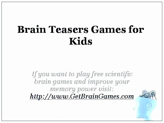 Brain Teaser Printable Worksheets Brain Stretcher Worksheets Answers Find the Mistake Riddle