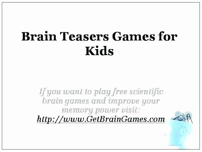 Brain Teasers Printable Worksheets 6th Grade Brain Teasers Worksheets