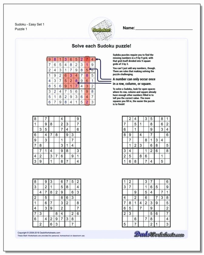 Brain Teasers Worksheets Pdf Lovely 6th Grade Math Crossword Puzzle Worksheet Printable Page