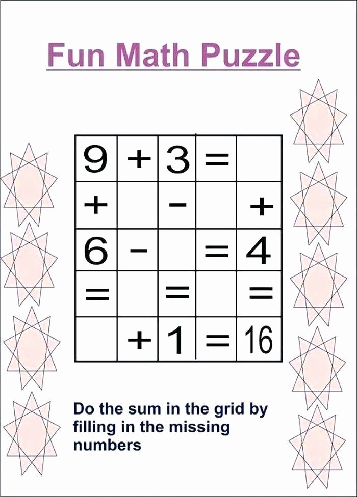 Brain Teasers Worksheets Pdf New Math Puzzle Worksheets Pdf