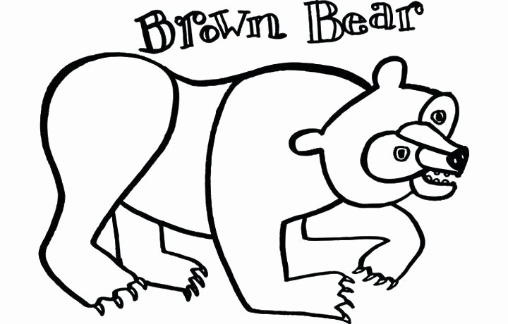 Brown Bear Brown Bear Worksheets Fresh Eric Carle Brown Bear Coloring Pages – Danquahinstitute