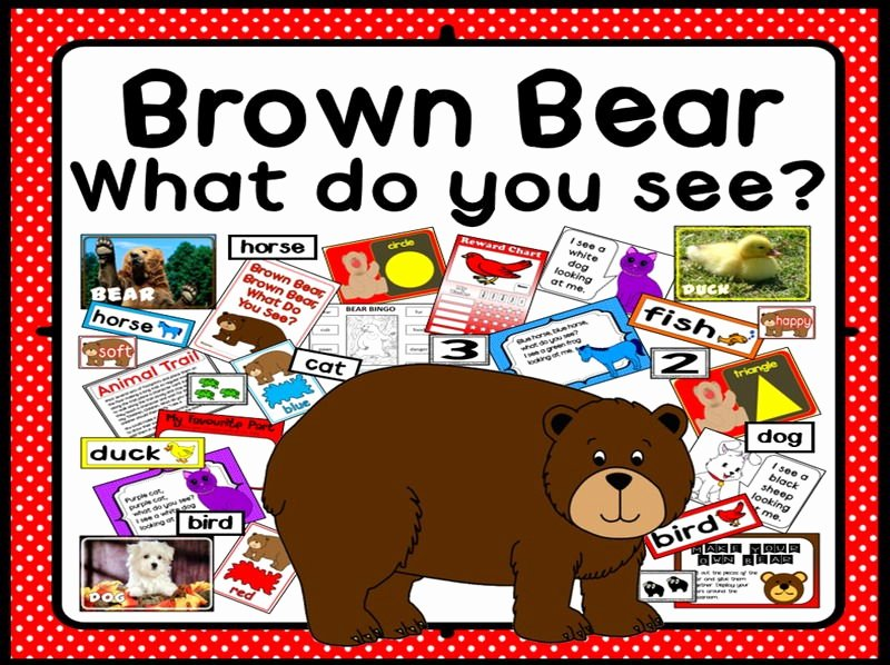 Brown Bear Brown Bear Worksheets Lovely Teaching Science Through Stories Eyfs Ks1