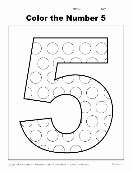 Bug Worksheets for Preschool Numbers 1 5 Worksheets for Preschoolers