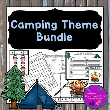 Camping themed Worksheets Camping theme Differentiated Activities and Worksheets