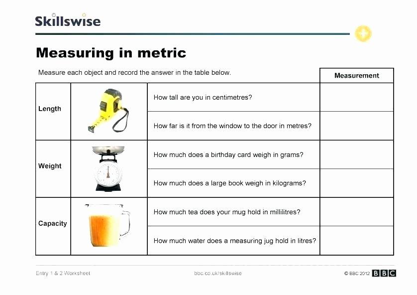 Capacity Worksheets 3rd Grade 3rd Grade Worksheets