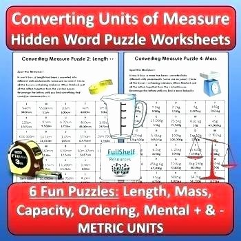 Capacity Worksheets 4th Grade Metric System Worksheets 4th Grade