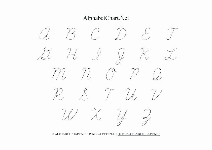 Capital Cursive Alphabet Cursive Alphabet Handwriting Fabric Writing Uppercase