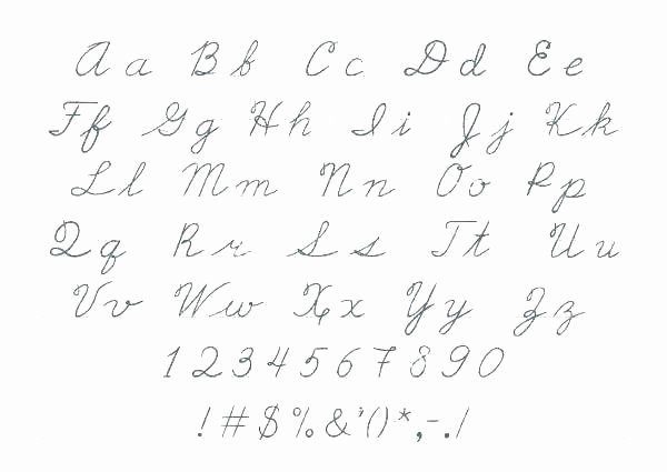 Capital Cursive Alphabet Free Cursive Handwriting Pack This Reading Mama Printable