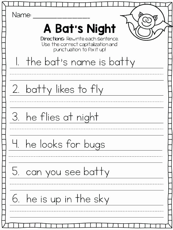 Capitalization Worksheets 4th Grade Pdf 5th Grade Capitalization Worksheets Grade Capitalization and