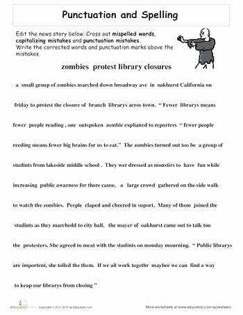 Capitalization Worksheets 4th Grade Pdf 5th Grade Grammar Lessons