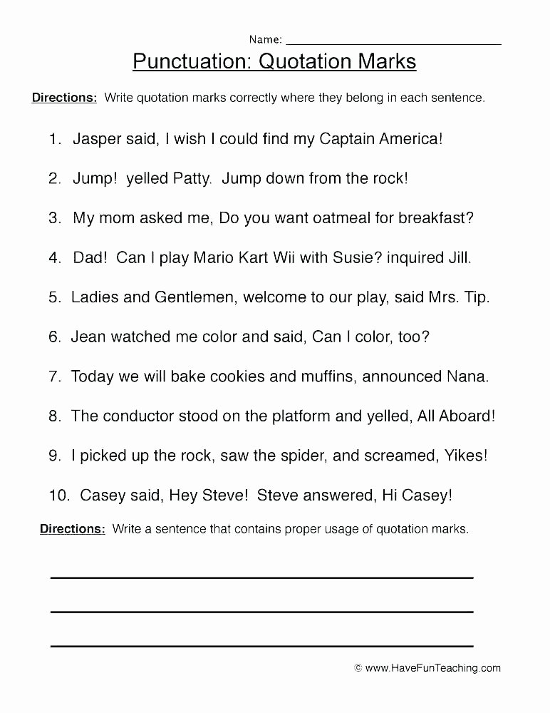 Capitalization Worksheets 4th Grade Pdf Ma Worksheets 4th Grade