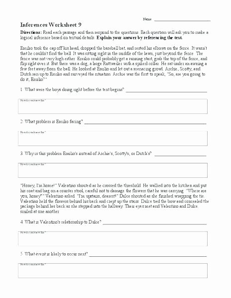 Categorizing Worksheets for 1st Grade Categorize Worksheets Cut and 1 Worksheet Inference Pdf 1st
