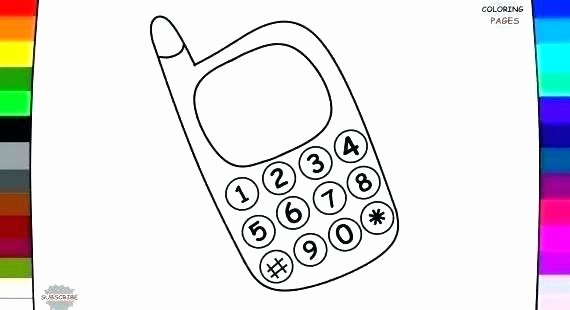 Cell Coloring Worksheets Cell Phone Coloring Pages Phone Coloring Page Cell Phone