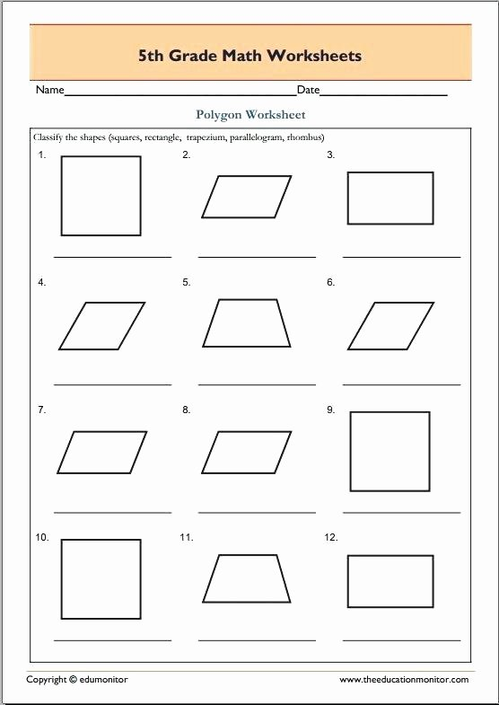 Challenge Math Worksheets 5th Grade Geometry Worksheets – Anumaquinaria