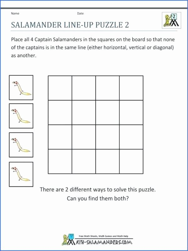 Challenge Math Worksheets Math Puzzle Worksheets