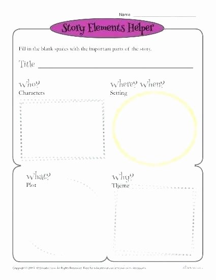 Character and Setting Worksheets 6th Grade Plot Worksheets