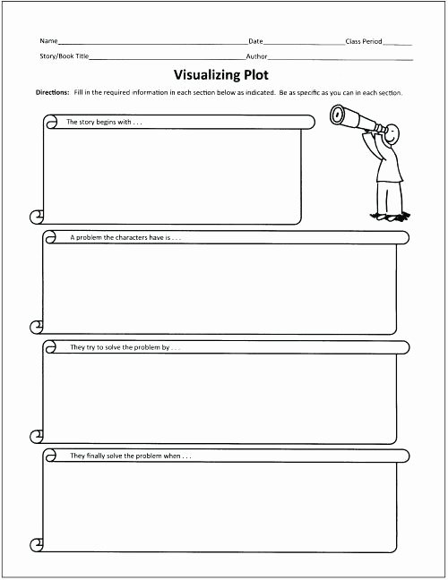 Character and Setting Worksheets Story Summary Worksheet Setting Analysis – Simplyknox